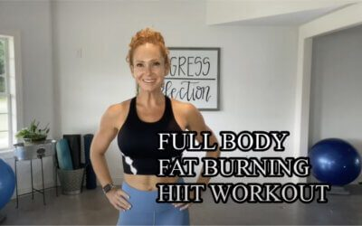 Full Body Fat Burning HIIT Workout (Video)