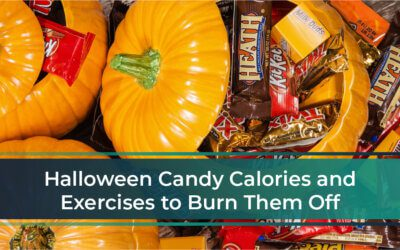 Halloween Candy Calories and Exercises to Burn It Off